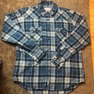 Superbadshirt Long Sleeve Flannel L